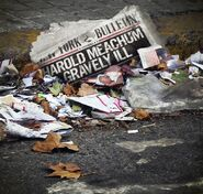 Marvel's Iron Fist Harold Meachum Zeitung Promobild