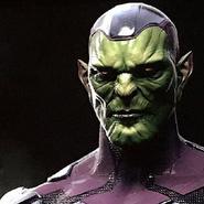 Captain Marvel Konzeptzeichnung 1