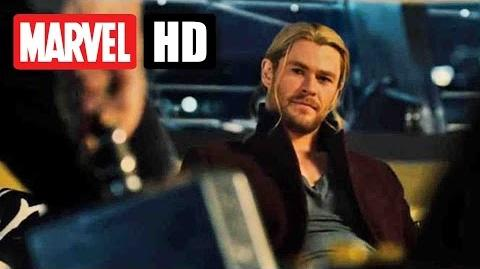 AVENGERS AGE OF ULTRON - Hammer Lift Competition - JETZT im Kino - Marvel HD