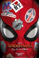 Spider-Man - Far From Home Teaserposter