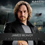 Charles Xavier- Professor X jung - James Mc Avoy
