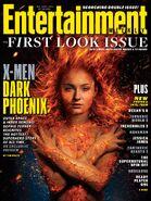 X-Men - Dark Phoenix Entertainment Weekly Cover