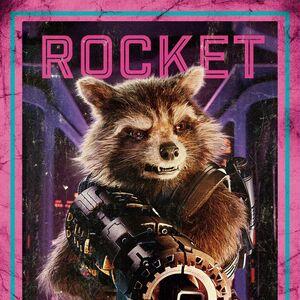 Guardians of the Galaxy Vol.2 deutsches Charakterposter Rocket.jpg