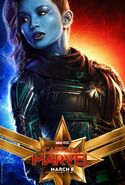 Captain Marvel Charakterposter Minn-Erva