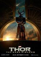 Charakterposter Heimdall Thor - The Dark Kingdom