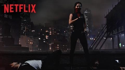 Marvel's Daredevil – Figuren-Artwork – Elektra – Netflix HD