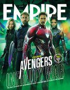 Avengers - Infinity War Empire Cover 1