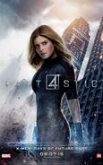 Fant4stic Charakterposter Invisible Woman