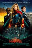Captain Marvel Kinoposter 2