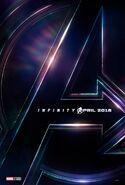 Avengers - Infinity War deutsches Teaserposter