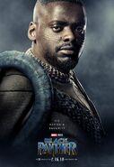 Black Panther Charakterposter W'Kabi
