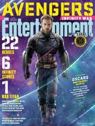 Avengers - Infinity War Entertainment Weekly Cover 2
