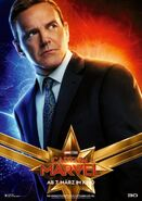 Captain Marvel deutsches Charakterposter Phil Coulson