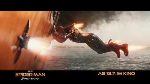 "SPIDER-MAN HOMECOMING - Shield Place 20"" - Ab 13.7.2017 im Kino!-2"