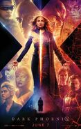 X-Men - Dark Pheonix Teaserposter 2