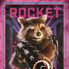 Guardians of the Galaxy Vol.2 Charakterposter Rocket.jpg
