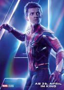 Avengers - Infinity War - Deutsches Spider-Man Poster