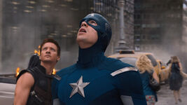 The-Avengers-Review-Captain-America-and-Hawkeye