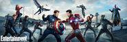 The First Avenger - Civil War Entertainment Weekly Banner