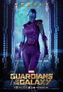 Guardians of the Galaxy Nebula Poster