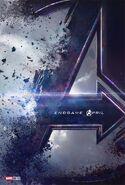 Avengers Endgame deutsches Teaserposter