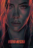 Black Widow russisches Poster