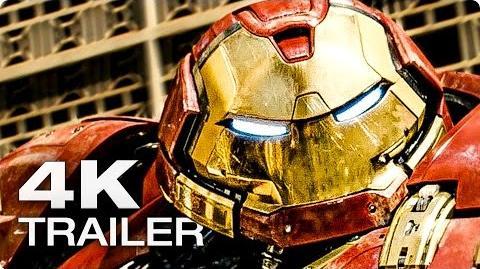 THE AVENGERS 2 Age Of Ultron Trailer Deutsch German 2015 Marvel