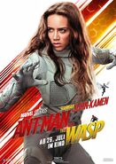 Ant-Man and the Wasp deutsches Charakterposter Ghost