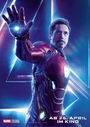 Avengers - Infinity War - Deutsches Iron Man Poster