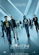 X-Men - Erste entscheidung deutsches Poster