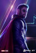 Avengers - Infinity War - Thor Poster