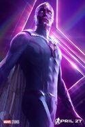Avengers - Infinity War - Vision Poster
