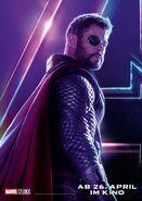 Avengers - Infinity War - Deutsches Thor Poster