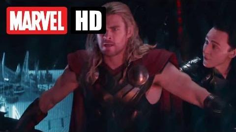 THOR THE DARK KINGDOM - Filmclip - Flucht von Asgard - Marvel