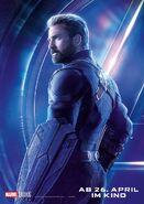 Avengers - Infinity War - Deutsches Captain America Poster