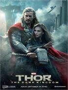 Charakterposter Thor und Jane Foster Thor - The Dark Kingdom