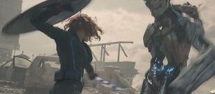 BW Wields Shield Avengers AoU