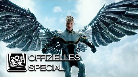 """X-Men Apocalypse """"Angel"""" Warren Worthington III Character-Clip Deutsch HD (Ben Hardy)"""