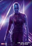 Avengers - Infinity War - Deutsches Nebula Poster