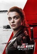 Black Widow - deutsches Charakterposter Melina Vostokoff