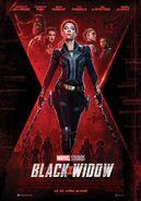 Black Widow deutsches Kinoposter