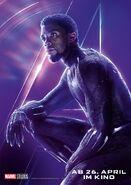 Avengers - Infinity War - Deutsches Black Panther Poster