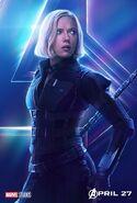 Avengers - Infinity War - Black Widow Poster