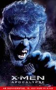 X-Men Apocalypse - Beast deutsches Charakterposter