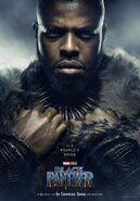 Black Panther Charakterposter M'Baku