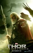 Charakterposter Odin Thor - The Dark World Charakterposter