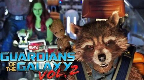 GUARDIANS OF THE GALAXY VOL. 2 - Filmclip Die Sovereign Flotte Marvel HD