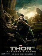 Charakterposter 2 Loki - Thor The Dark Kingdom