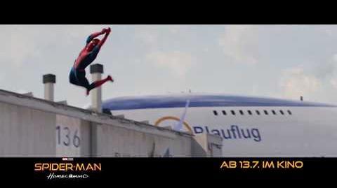"SPIDER-MAN HOMECOMING - Shield Place 30"" - Ab 13.7.2017 im Kino!-1"