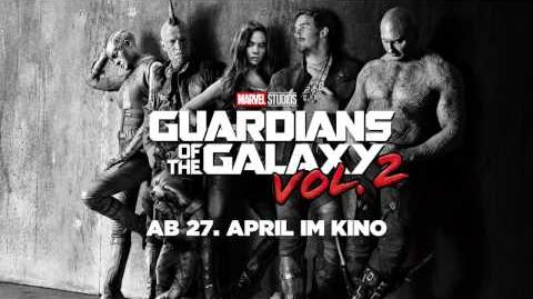 GUARDIANS OF THE GALAXY VOL. 2 - offizieller Teaser Trailer Marvel HD